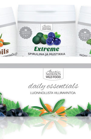 ARCTIC NUTRITION FINLAND - Wild Food Challenge Plus Pack - VITALITY PLAN