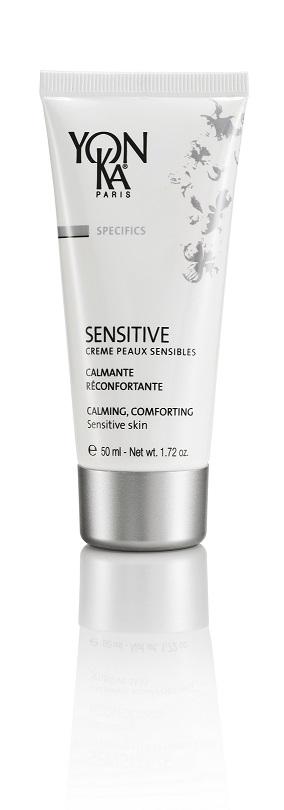 SENSITIVE CREME PEAUX SENSIBLES - Rauhoittaa ihoärsytyksiä