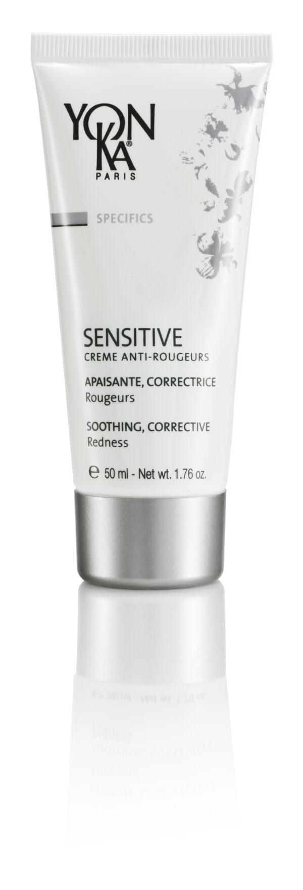 SENSITIVE CRÈME ANTI-ROUGEURS - Vähentää punoittavan ihon kuumotusta