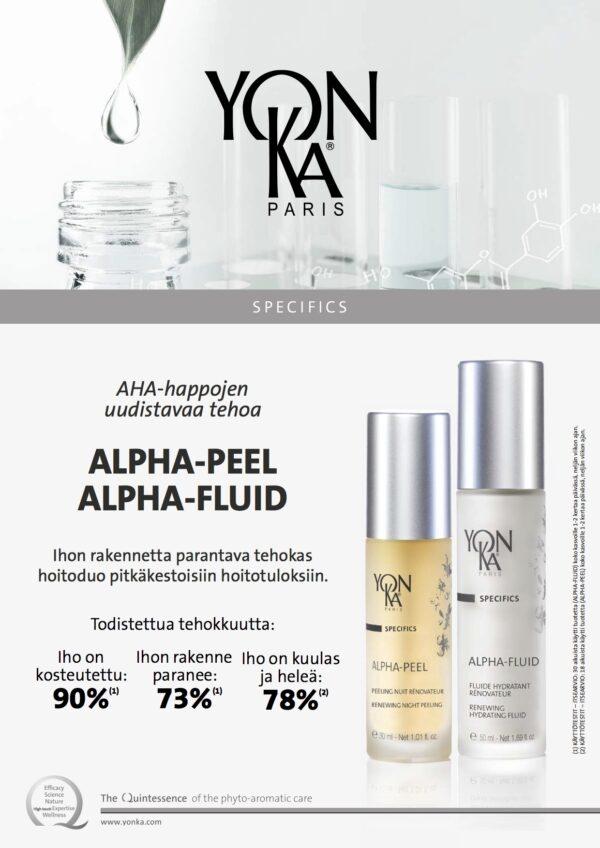 ALPHA-FLUID, ALPHA-PEEL