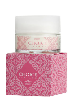 CHOICE Finland 24H Face Cream, 100% Vegan