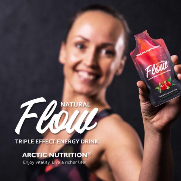 Flow - kolmivaikutteinen energiajuoma